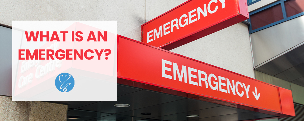 what is emergency? using the er for emergencies vs. non emergencies